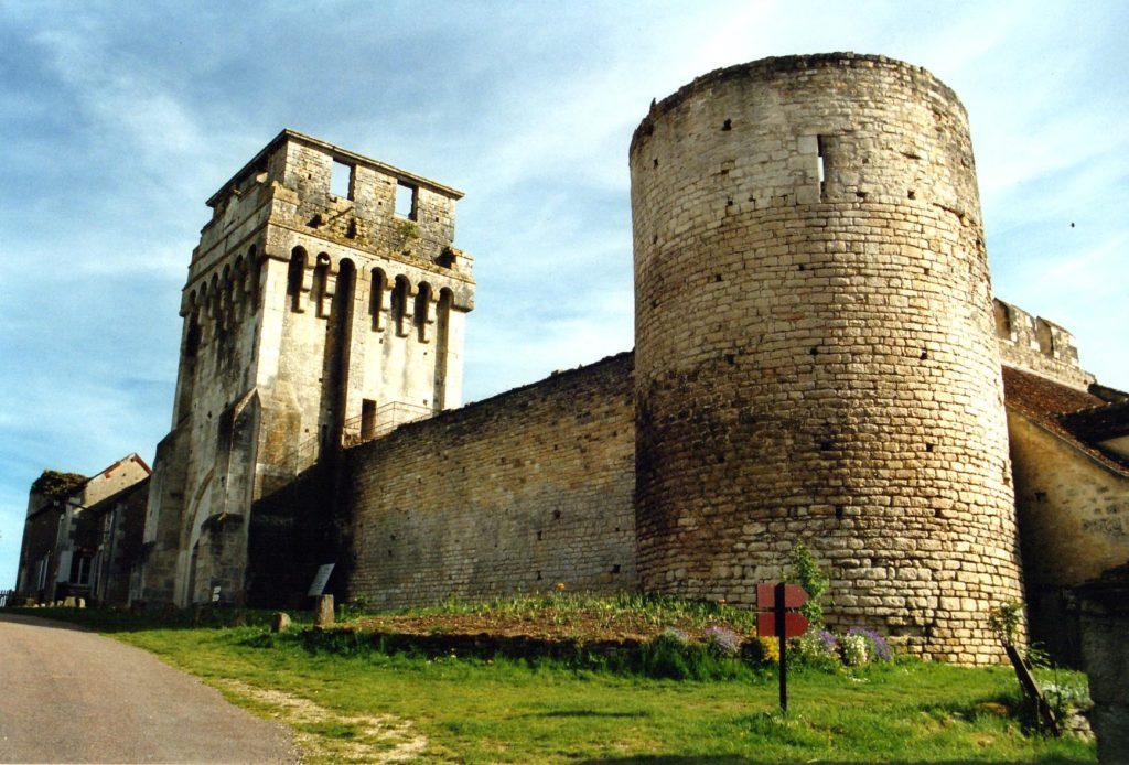 Château fort de Druyes-les-belles-fontaines