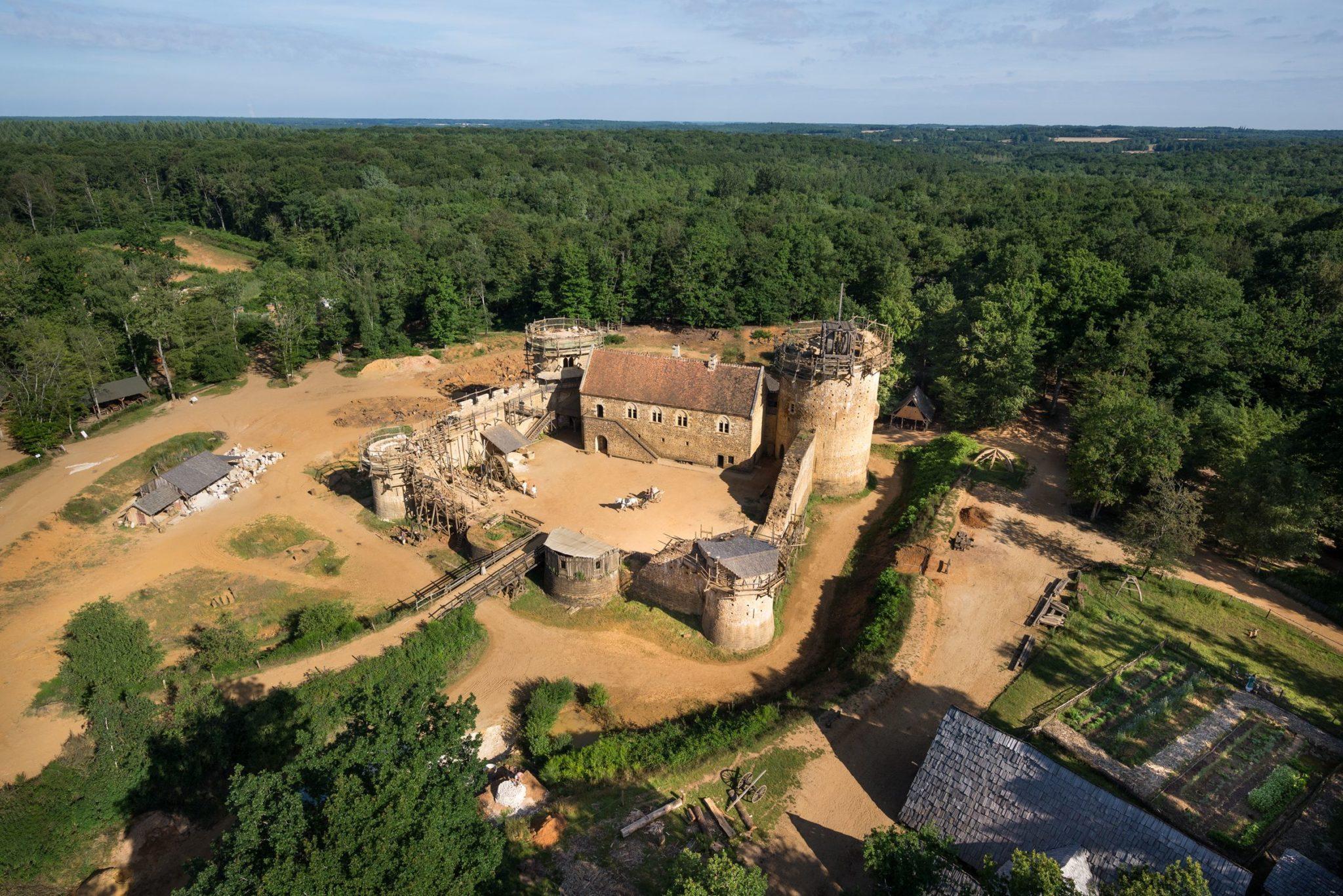 Château de Guédelon à Treigny
