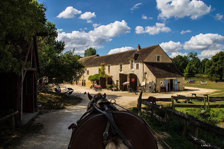 Le moulin de Vanneau à Saints en Puisaye