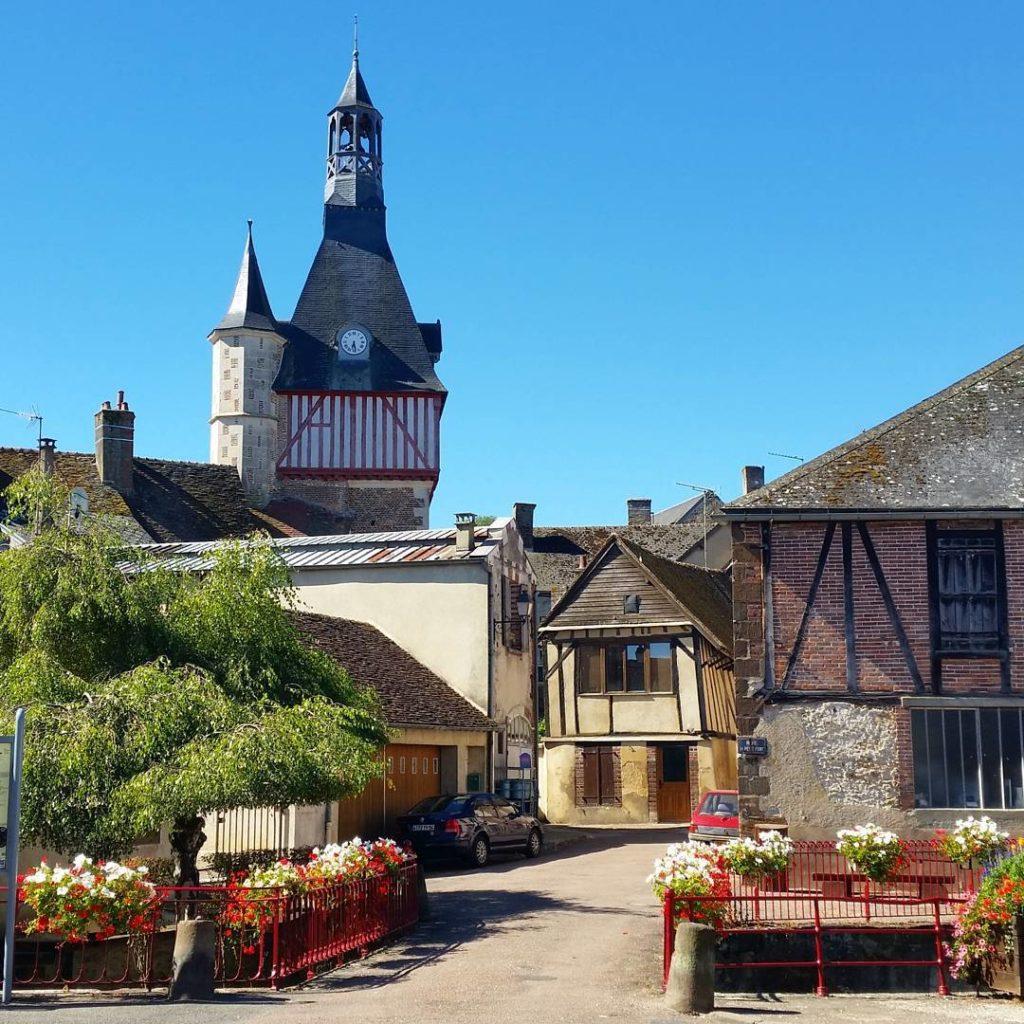 Le Beffroi de Saint-Fargeau - ©lo-paris