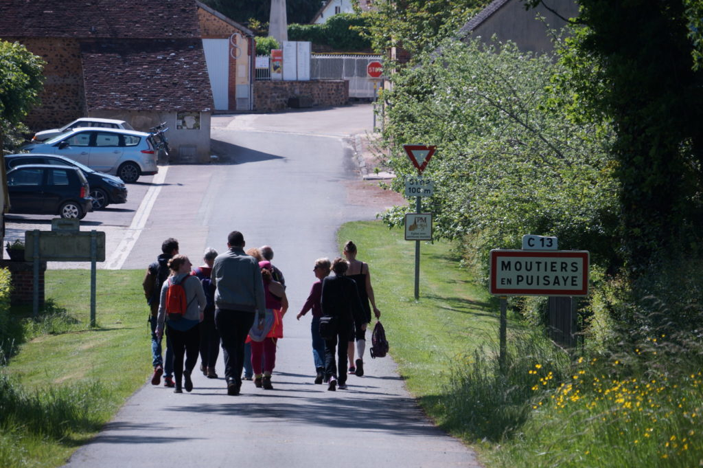 Initiation géocaching en Puisaye-Forterre