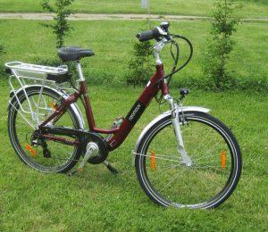 Vélo réduite