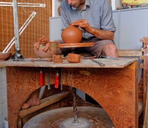 Atelier Christele DAVID à Saint-Fargeau – ©Jean-Pierre ROULIER