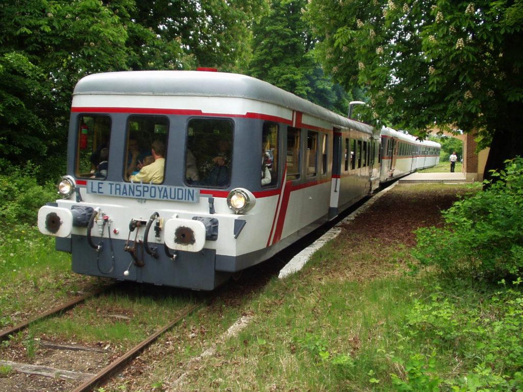 Train touristique de Puisaye - ©aaty