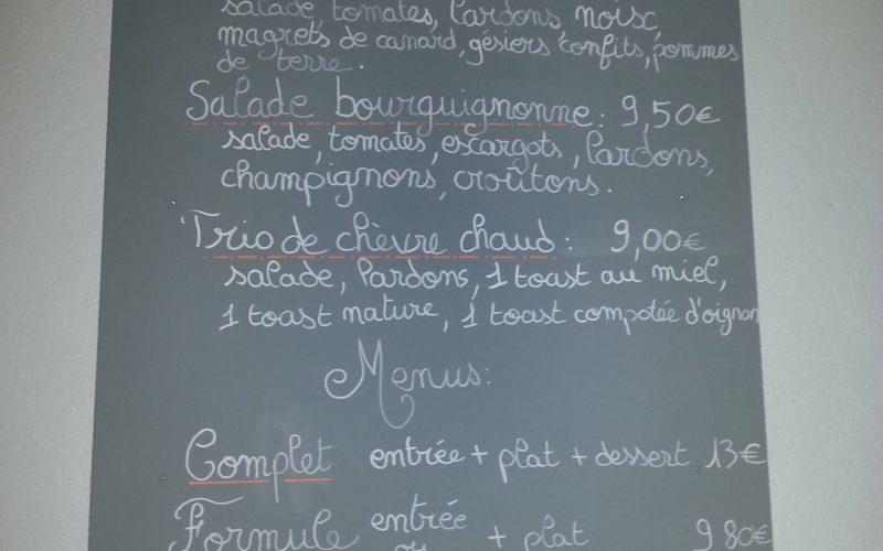 Restaurant le café du bal Treigny