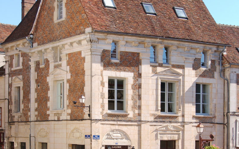 Galerie de l'Ancienne Poste- extérieur – Gilles Puech