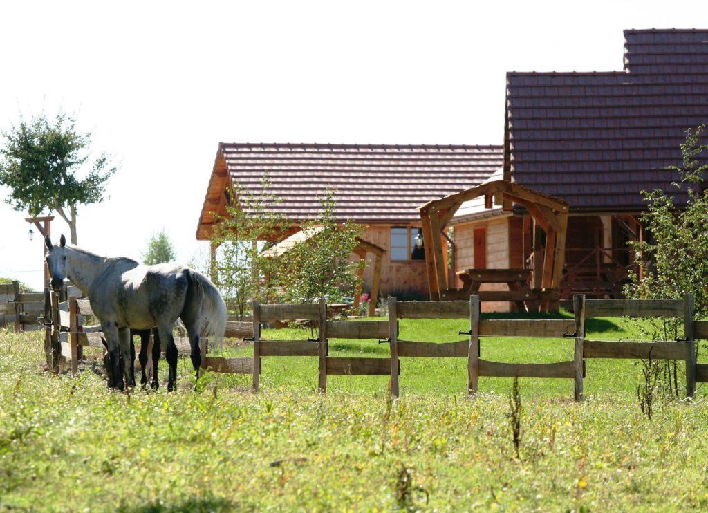 Le hameau des grilles à Saint-Fargeau
