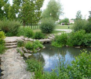 Jardin d'eau de BLENEAU