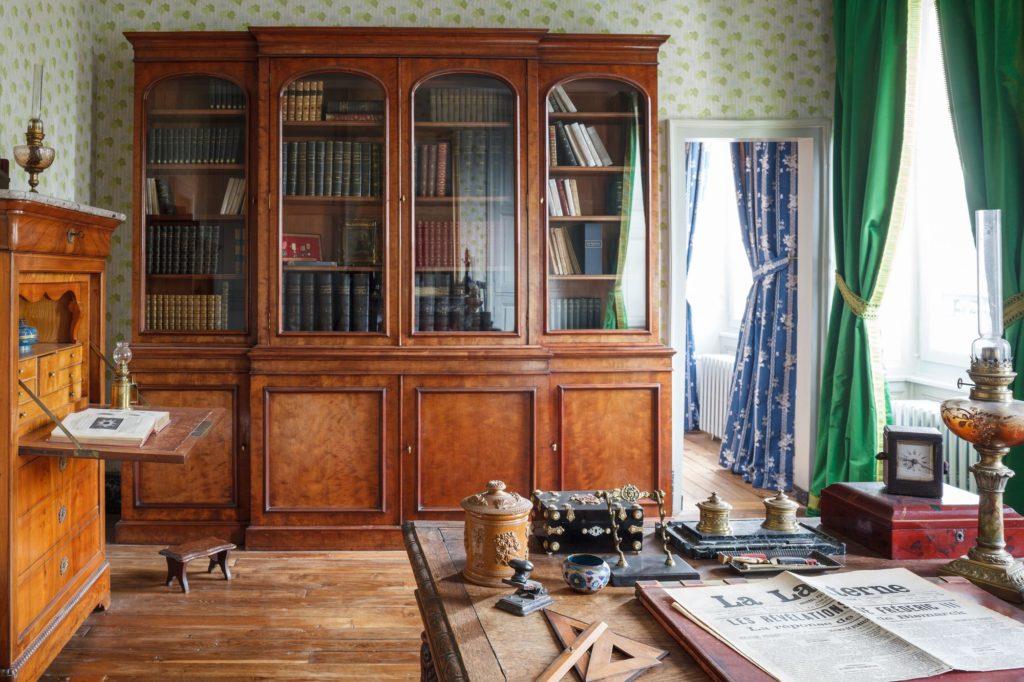 Maison de Colette, Bibliothèque du Capitaine