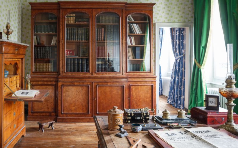 Maison de Colette, Bibliothèque du Capitaine – ©Nic