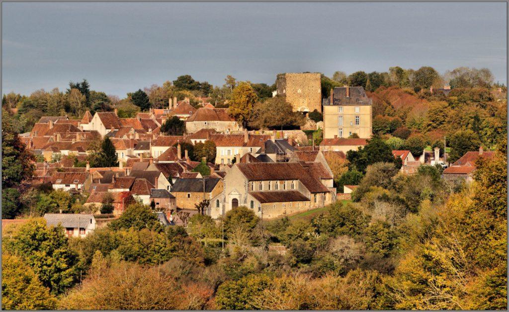 Village de Saint-Sauveur en Puisaye - ©Daniel Salem