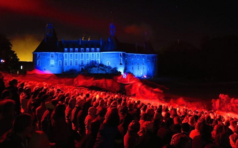 Au spectacle historique au château de Saint-Fargeau – ©Laurent Pandini