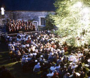 Concert au château de Ratilly – ©Claire Sauvage