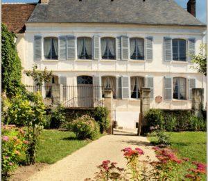 La maison natale de Colette à Saint-Sauveur en Puisaye – ©Daniel Salem
