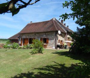 Chambres d'hôtes les champs blancs à Sait-Aubin Château-neuf (6)