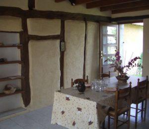 Salle à manger Gîte le Bitrya