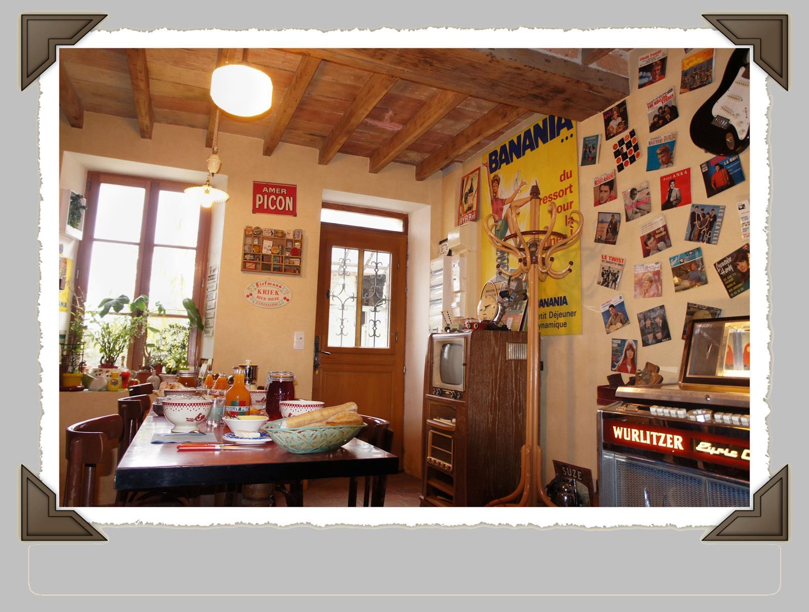 Chambres d h´tes sur les années 50  Saint Sauveur en Puisaye Yonne