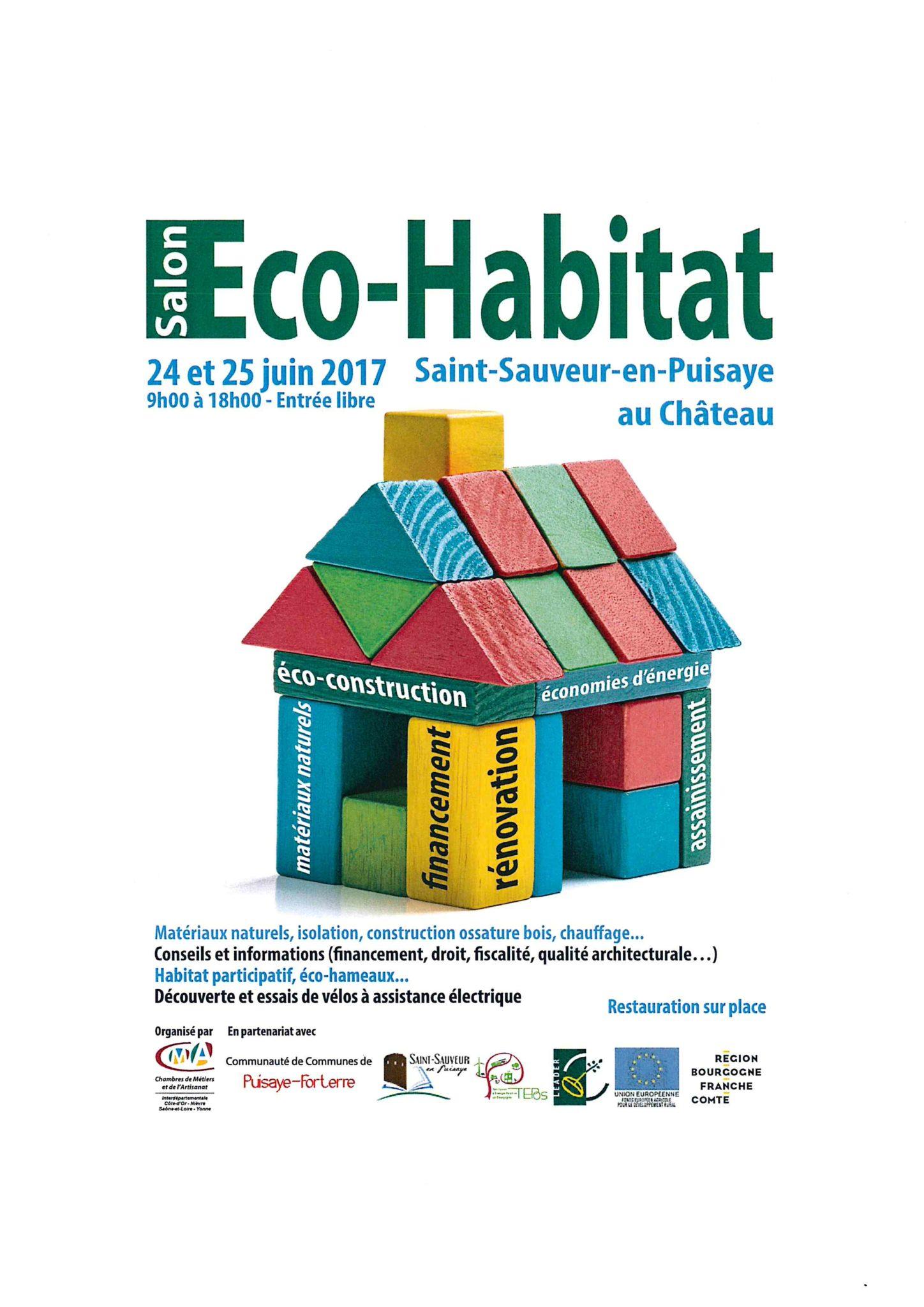 Salon eco habitat saint sauveur en puisaye for Salon eco habitat