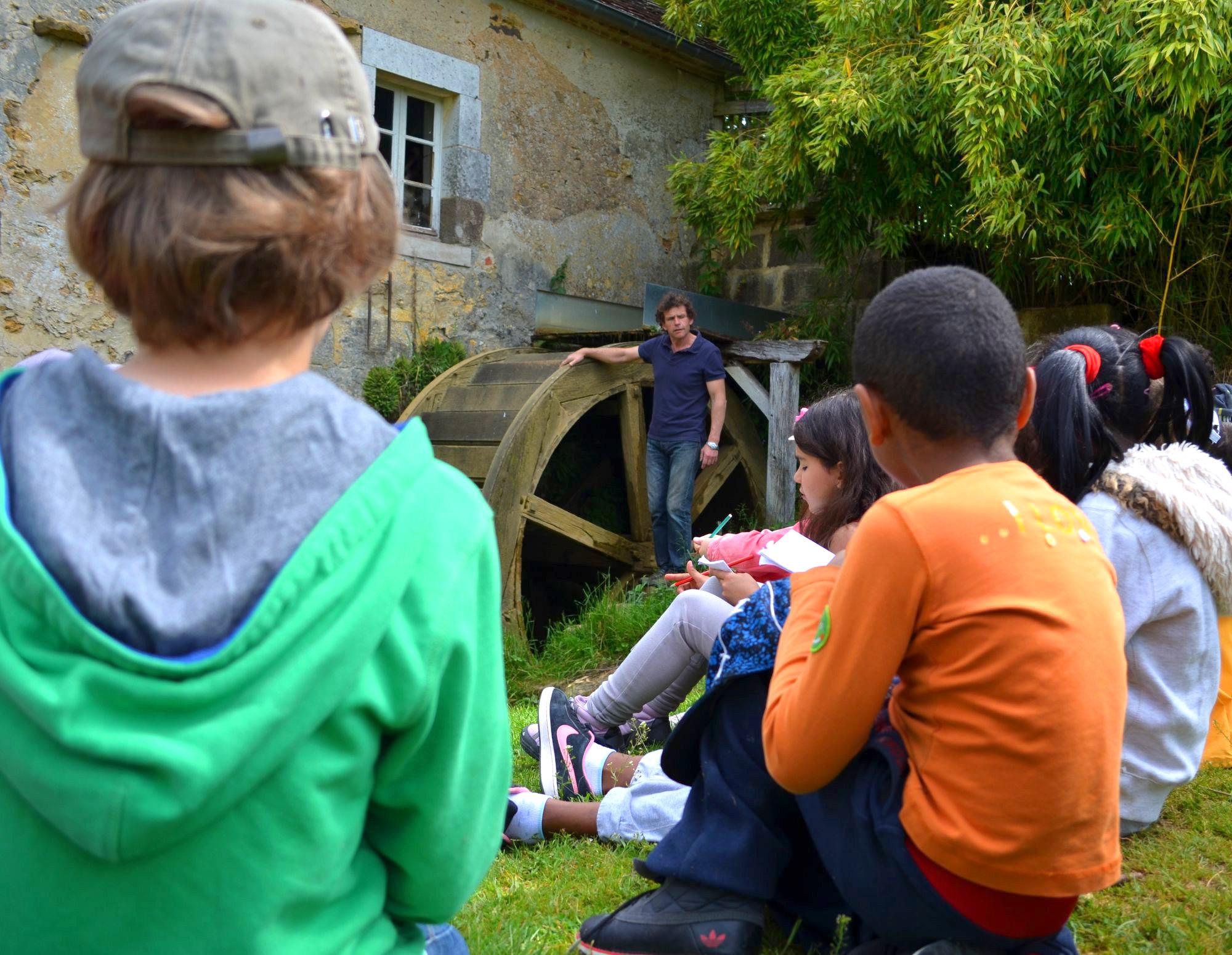 Le Moulin de Vanneau à Saints en Puisaye - ©Yves Pirelli