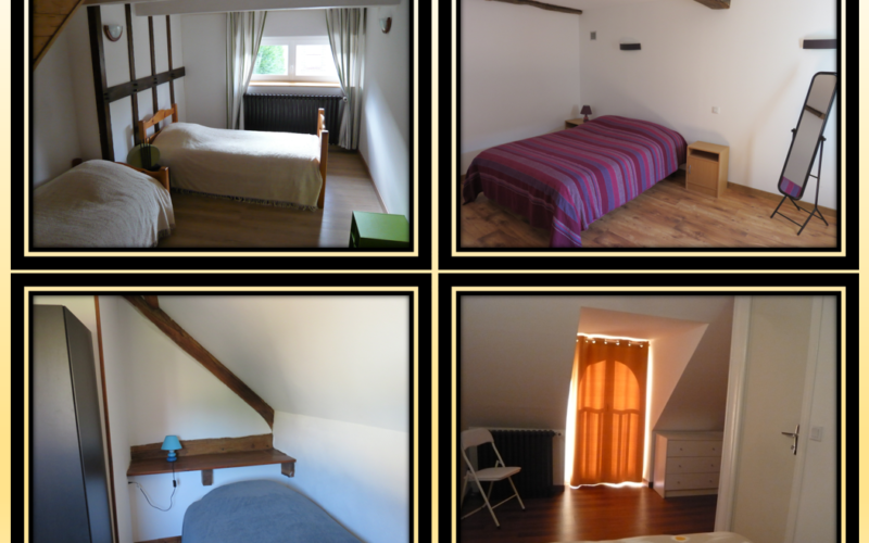 Troussards chambres