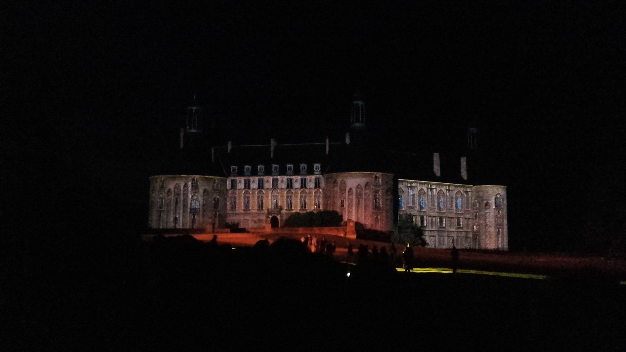 Spectacle du château de Saint-Fargeau