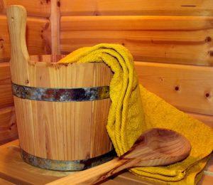 Sauna au family ecolodge en Puisaye-Guédelon-Bourgogne