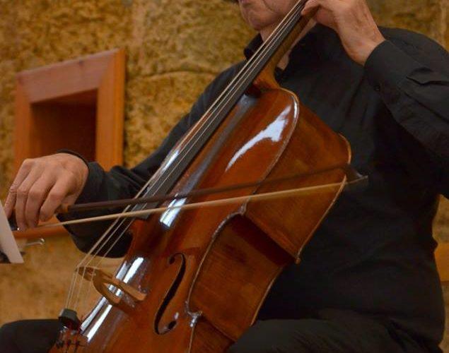 Violoncelliste Château de Ratilly