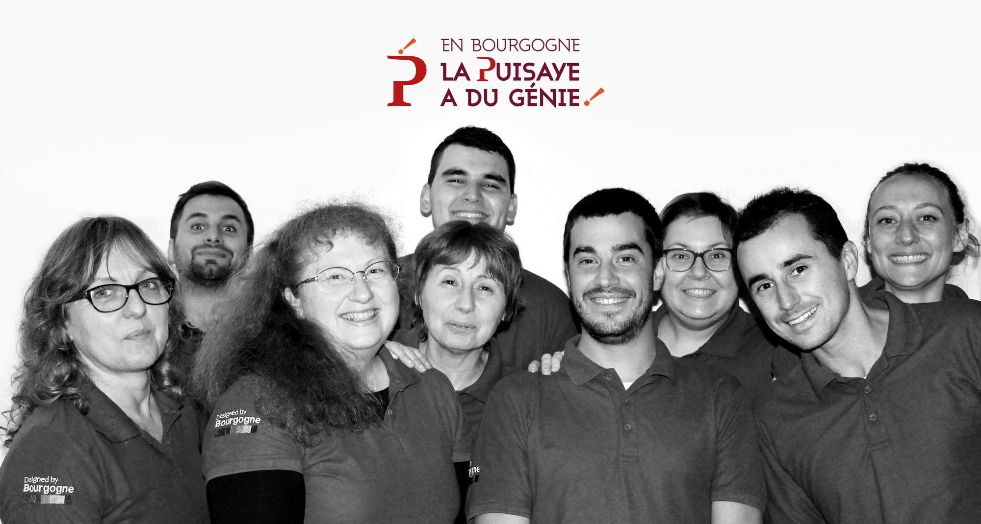L'équipe de l'Office de Tourisme de Puisaye-Forterre
