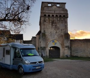 aire camping car druyes