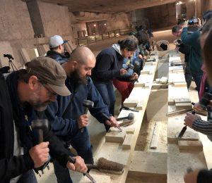 atelier taille pierre carrière aubigny insta