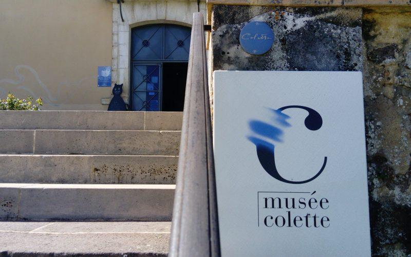 Entrée du musée Colette