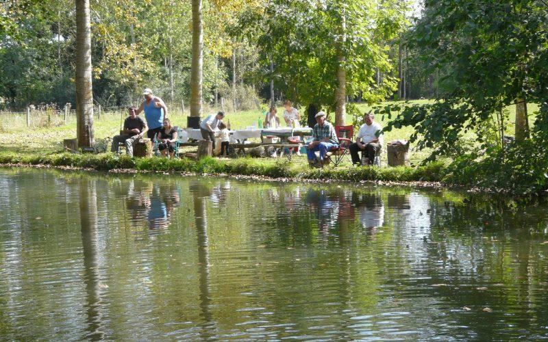 pêche à l'étang