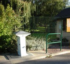 Aire de service pour camping-cars à Saint-Amand-en-Puisaye