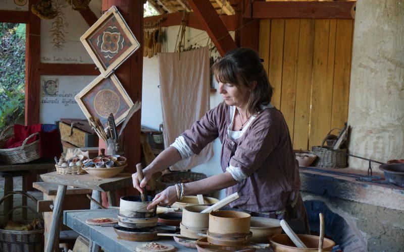 La peintre dans son atelier